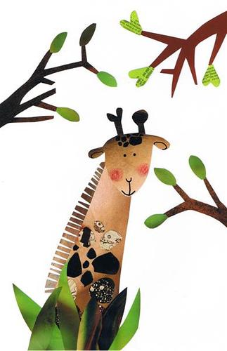 Giraffe in Africa (c)monettenriquez